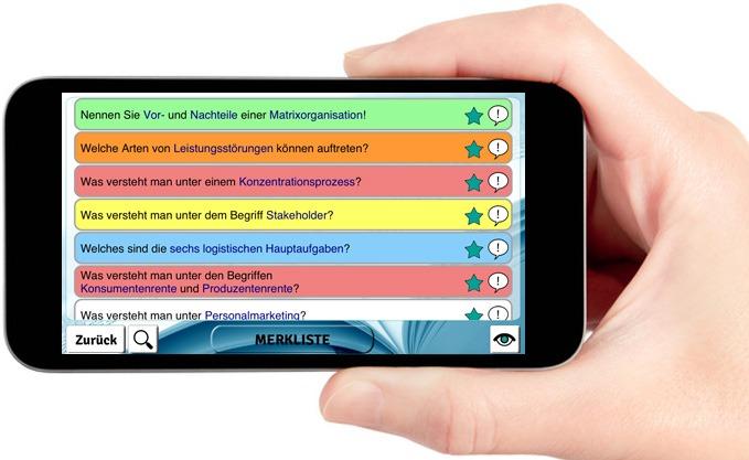 Handelsfachwirt Lernkarten IHK App ios Android 4