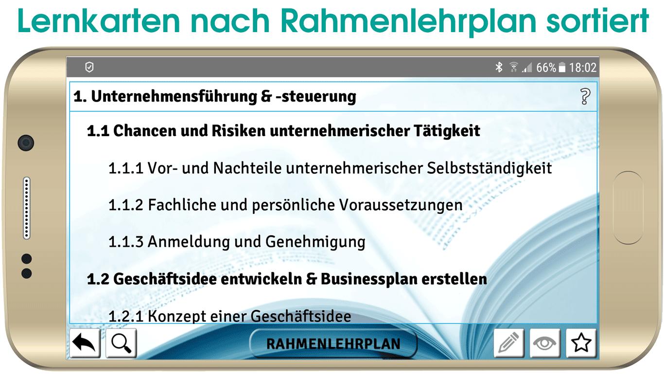 Handelsfachwirt Lernkarten App IHK VO2014_7