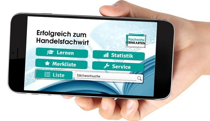 Lernkarten und Apps für die Prüfung zum Handelsfachwirt auf Lernkarten.de