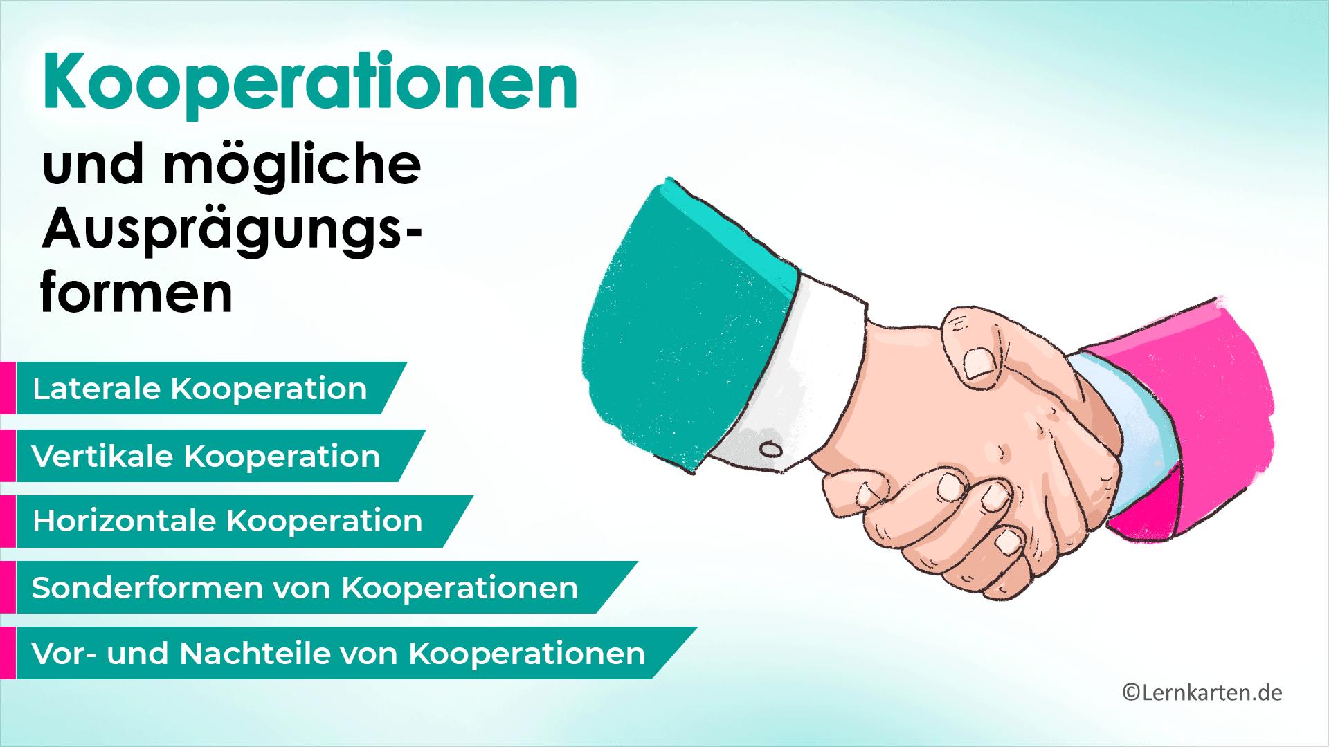 Kooperationsformen
